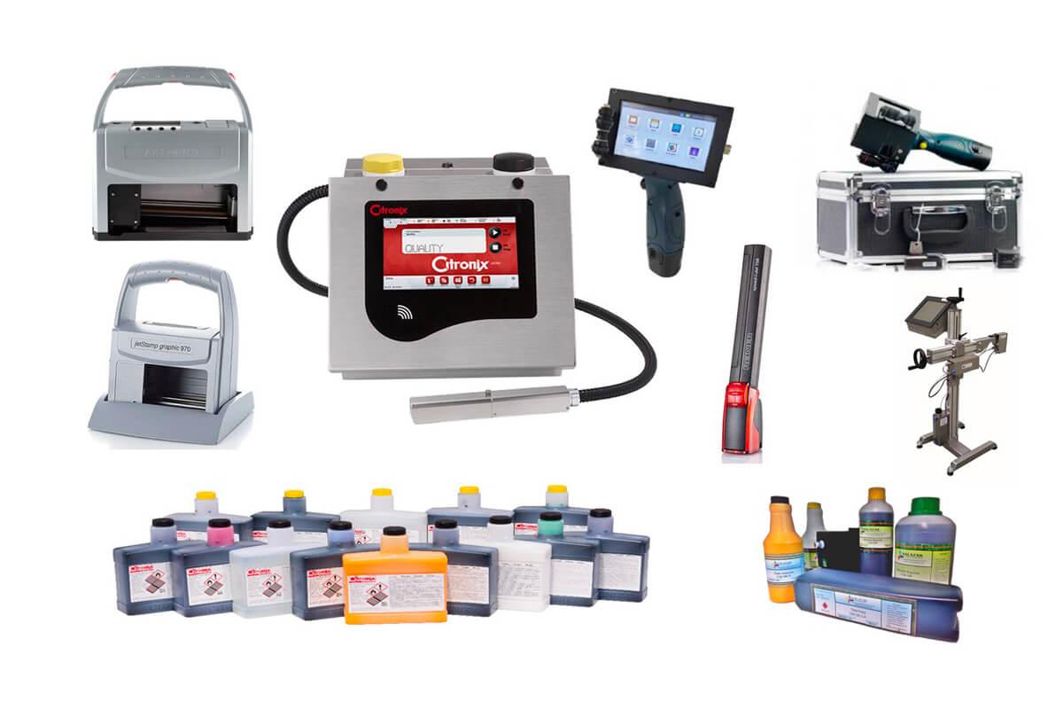 A Salazar é uma empresa especializada no fornecimento de soluções para codificação e marcação industrial